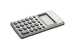 Pocket calculator. Pocket calculator on white background Stock Image
