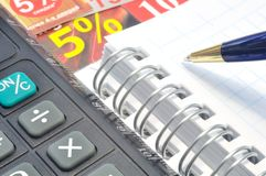 Pocket calculator Royalty Free Stock Photography