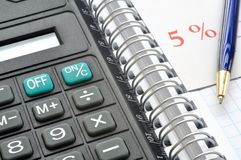 Pocket calculator Stock Photography