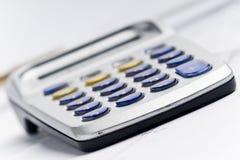 Pocket calculator Stock Image