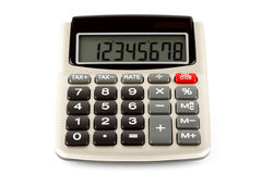 Pocket calculator Stock Photos