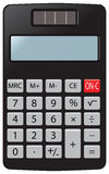 Pocket calculator Stock Images