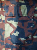 Pocket of the camouflage Stock Photography