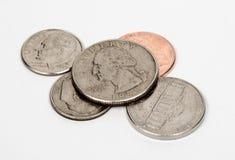 Loose Change United States Stock Image