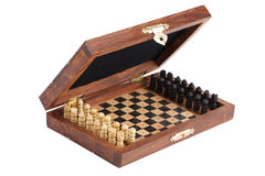 Pocket chess Royalty Free Stock Photos
