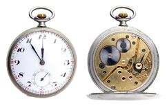 Pocket Clock Royalty Free Stock Photo