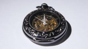 Pocket clock. Close up stock video footage