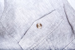 Pocket. Closeup of a pocket of some textile trousers Royalty Free Stock Images