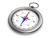 Pocket compass Royalty Free Stock Photography