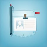 Pocket Design. Office profession. Stock Photos