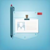 Pocket Design. Office profession. Stock Photos