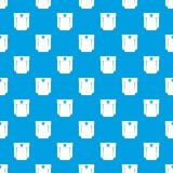Pocket design pattern seamless blue Royalty Free Stock Photography