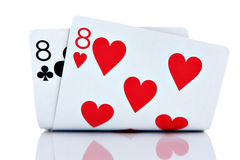 Pocket Eights Royalty Free Stock Images