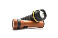Pocket flashlight Royalty Free Stock Photo