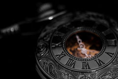 Pocket fob watch Stock Images