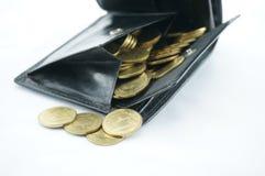 Pocket full coin Stock Image
