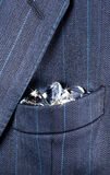 Pocket full of diamonds Royalty Free Stock Images
