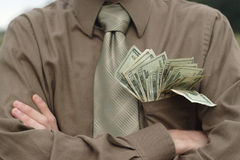 Pocket Full of Money Stock Image