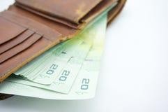 Pocket full. Pocket is full with money Stock Photos