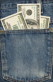 Pocket Full of Money Stock Image