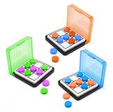 Pocket Game Sets Stock Images