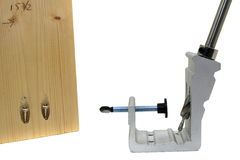 Pocket Hole Jig Stock Photography