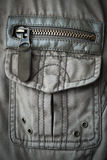 Pocket on the jacket youth Royalty Free Stock Photo