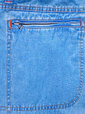 The Pocket on jeans. Royalty Free Stock Photography