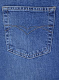 Pocket of jeans Royalty Free Stock Photo