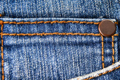 Pocket of jeans Stock Photos