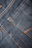 Pocket of the jeans Royalty Free Stock Image