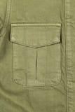Pocket khaki close-up Stock Image
