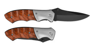 Pocket Knife Royalty Free Stock Images