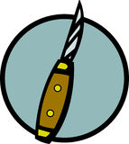 Pocket knife vector illustration Royalty Free Stock Photo