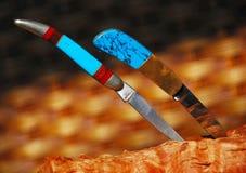 Pocket Knives Stock Image
