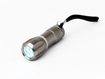 Pocket LED flashlight Royalty Free Stock Photos