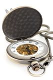 Pocket mechanical watch. Stock Photography