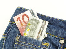 Pocket Money Stock Image