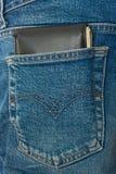 Pocket money stock photo