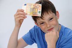 Pocket money Stock Photos