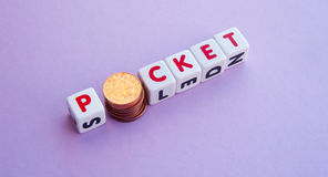 Pocket money Royalty Free Stock Photography