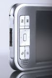 Pocket pc. Pocket computer. Close-up shot stock images