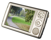 Pocket pc Royalty Free Stock Images