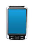 Pocket PC with clipping path on white Royalty Free Stock Photo