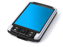 Pocket PC isolated Stock Image