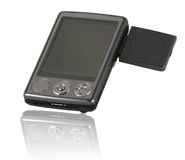 Pocket PC (PDA) with the GPS Stock Images