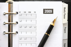 Pocket planner Stock Images