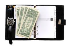 Pocket planner Stock Image