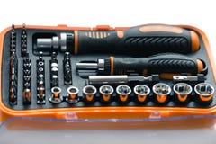 Pocket precision screwdriver set Royalty Free Stock Photos