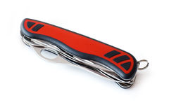 Pocket Swiss army knife Stock Images
